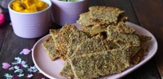 paleo walnut crackers