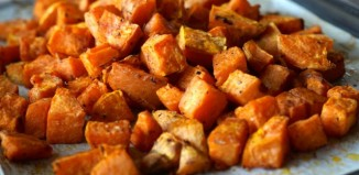 healthy natural real food roast sweet potato recipe
