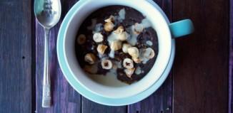 Gluten Free Grain Free Chocolate Hazelnut Porridge