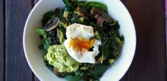 green brekky bowl